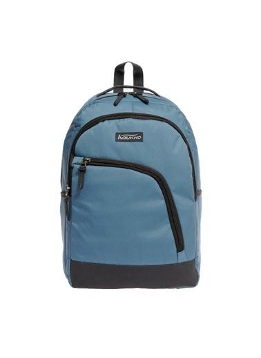 Kaukko Kaukko Basic Sırt Çantası Mavi K1080 Renkli